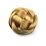 viziosa oro riccio Europa sposa capelli umani senza cappuccio chignon parrucche g660205 1011