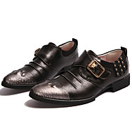 Men's Shoes Office & Career / Party & Evening / Casual Oxfords Black / Red