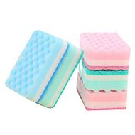 5pcs Random Color Cleaning Sponge Cloth Antibiosis