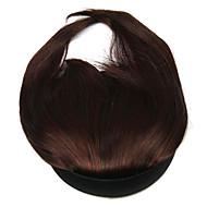 wig czerwone wino 10cm wysokotemperaturowy drut baki Qi Liu kolor 3017