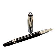 עט עֵט עטים נובעים עֵט,מתכת חָבִית שחור צבעי דיו For ציוד בית ספר ציוד משרדי חבילה של