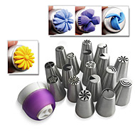 Russia Nozzles with Adaptor Bag Nozzle Converter  Tools for Cupcake   JG0017N& TC-003
