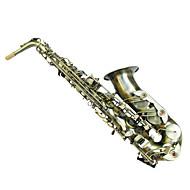 grøn bronze dobbelt forstærkning e alto saxophone konfiguration