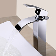 Suvremena  with  Chrome Single Handle One Hole  ,  svojstvo  for Waterfall
