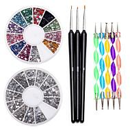 Nail Kit Nail Art Decoration Accessoires Nail DIY Acryl Kit