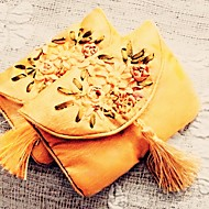 비 개인화-웨딩 / 기념일 / 브라이덜 샤워 / 베이비 샤워-가든 테마 / 아시안 테마 / 클래식 테마-호의 가방 / 쿠키 포장백(골드,면)