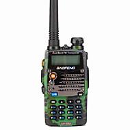 BAOFENG Håndholdt Digital UV-5RA FM-radio Lader og adapter Stemmekommando Strømskifter høy/lav Type walkie-talkie LCD-display CTCSS/CDCSS