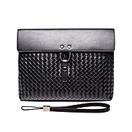 L.WEST Men's The Fashion Leisure High-grade Weaving Clutch