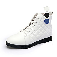 Aokang Women's Shoes Leather Flat Heel Comfort/Round Toe/Closed Toe Fashion Sneakers/Athletic Shoes Outdoor/Athletic