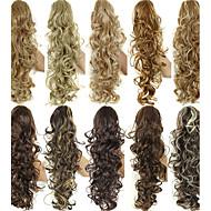 Karimájú pónilkakú hajszálak természetes fekete / sötét barna / közepes barna / világos barna / eper szőke