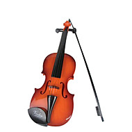 plastic bruin simulatie kind viool voor kinderen vanaf 3 muziekinstrumenten speelgoed