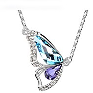 Thousands of colors  Women's Alloy Necklace Daily Crystal-1-427