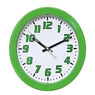 Rund Moderne / Nutidig Wall Clock,Andre Plastikk 22.8*22.8*4.4