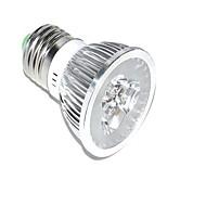 3W E26/E27 LED-kweeklampen MR16 3 Krachtige LED 70lm lm Rood / Blauw Decoratief AC 85-265 V 1 stuks
