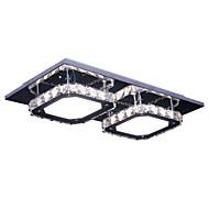 8Watt מודרני / חדיש קריסטל / LED כרום מתכת צמודי תקרה חדר שינה / חדר אוכל / חדר עבודה / משרד / מסדרון