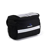 ROSWHEEL® Fahrradtasche 4.5LFahrradlenkertasche Wasserdichter Verschluß tragbar Feuchtigkeitsundurchlässig Stoßfest Tasche für das RadPVC