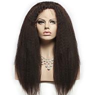 "Brazilian Virgin Hair Full Lace Wigs Human Hair Wigs for Black Women 8""-30""Yaki Straight Lace Front Wig"