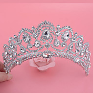 Mujer Diamantes Sintéticos / Aleación Celada-Boda / Ocasión especial Tiaras 1 Pieza