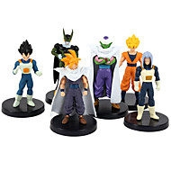 Dragon Ball 24 Generation 6 Figur sieben Dragon Ball Anime-Action-Figuren Modell Spielzeug