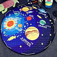 """strars brinquedos saco de armazenamento de tapete crianças jogo de esteiras de diâmetro 59 """"bebê engatinhando multifuncional tapete peça"""