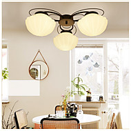 5 Chandelier ,  Modern/Contemporary Painting Feature for LED / Mini Style Metal Living Room / Bedroom / Dining Room