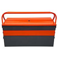 Three Multifunction Color Suitcase Tin Storage Box Metal Toolbox Aftermarket Parts Box
