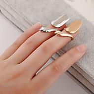 Ringe Sexy / Mode Daglig / Afslappet Smykker Dame Nail Finger Ringe 1pc,4 Gylden / Sølv