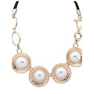 Collier Anniversaire / Mariage / Cadeau / Sorée / Quotidien / Casual / Occasion spéciale Imitation de perle Imitation de perle / Alliage