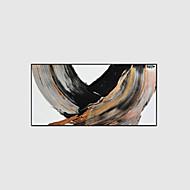 מצויר ביד מופשט ציורי שמן,מודרני שלושה פנלים בד ציור שמן צבוע-Hang For קישוט הבית
