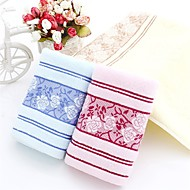 "1 Piece Full Cotton Hand Towel 29""by13"" Floral Pattern MultiColor Super Soft Strong Water Absorption Capacity"