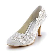 HedvábíDámské-Bílá-Svatba Šaty Party-Vysoký