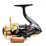 גלילי פיתיון יצוק 5.5:1 12 מיסבים כדוריים ניתן להחלפה דיג בים / הטלת פיתיון / דייג במים מתוקים-Baitcast Reels other
