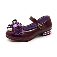 Girls' Shoes Libo New Style Hot Sale Outdoor / Evening / Wedding Comfort Loafers Red / Blue / Pink / Purple