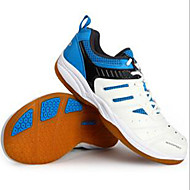 Unisex Sneakers PU Athletic Flat Heel Lace-up Blue Badminton / Tennis