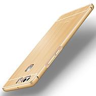 バック 超薄型 純色 メタル 硬 metal bumper brushed back cover ケースカバーについて Huawei Huawei社P9