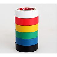 høy temperatur vanntett stoff flammehemmende isolert ledning svart elektriske tape tape pvc