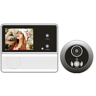 120 grader af visuel dørklokke elektroniske øje valgfri justerbar volumen sikkerhed kamera nattesyn