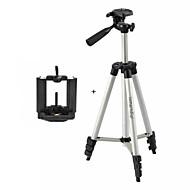 ismartdigi i-3110 + mobil állvány 4-szekció kamera állvány (ezüst + fekete) minden dv.camera és mobil: samsung iphone sony