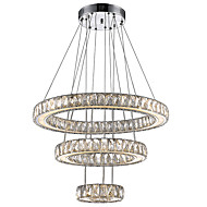Lusteri ,  Modern/Comtemporary Electroplated svojstvo for Crystal LED MetalLiving Room Bedroom Dining Room Kitchen Study Room/Office