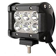 18 wattů lehký vůz vedl vedl pruh světla off-road auto lampy žárovku