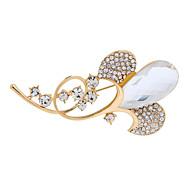 Fashion Alloy Glass Rhinestone Brooches for Wedding