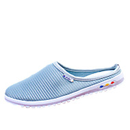 Women's Flats Spring Summer Fall Comfort Tulle Dress Casual Flat Heel Others Blue Pink Gray Walking