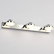 9W iluminação do banheiro, / contemporânea de metal integrada levou moderna