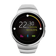 ny smartur telefon w18 mtk2502c 1,3 tommers rund skjerm IPS LCD 240x240 bluetooth 4.0 anti-tapt varsling