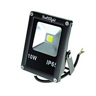 10W LED 투광 조명 900 lm 차가운 화이트 통합 LED 장식 / 방수 AC 85-265 / AC 220-240 / AC 100-240 / AC 110-130 V 1개