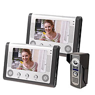 7 Inch Video Doorbell Home Video Intercom Intercom On A Two Night Vision Rainproof Function