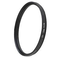 emoblitz 72 milímetros uv ultra-violeta lente filtro protetor preto