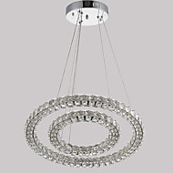 Contemporary LED Crystal Ceiling Pendant Lights Chandeliers Lamp with 54W D5070CM CE FCC ROHS
