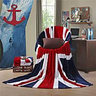 "The British Flag UK Super Soft Flannel Blanket  W59""×L79"""