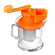 1 כלי מטבח בית זכוכית סוחטי מיץ ידניים